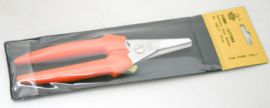 Bloemistenschaar oranje Gondola 19cm