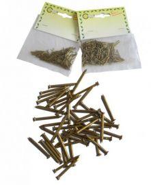 Bronsen spijkers 15mm