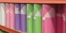 Fel gekleurd pakpapier 50cm breed x 400m lang