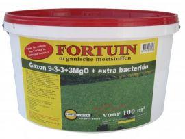 Fortuin Voorjaarsgazon 9-3-3+ 3MgO + bacteriën, 10kg