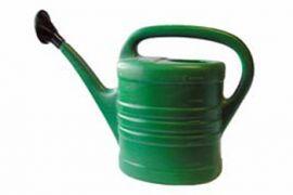 Gieter 10 ltr groen plastic