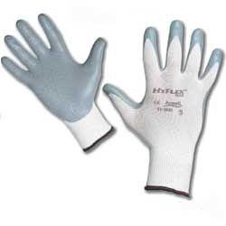handschoen ansell hyflex grijs