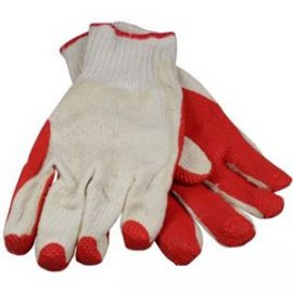 handschoen latex snijvast oranje