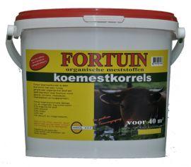 Fortuin organische koemestkorel, 4kg