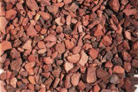 mijnsplit rood 16-22 mm (20 kilo-zak)