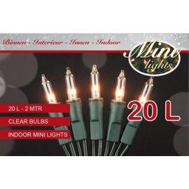 Mini-verlichting indoor 20l helder