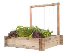 Minigarden met frame en touw