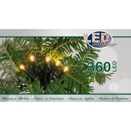 Miniverlichting outdoor led 360l warm wit inc