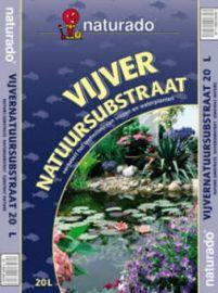 Naturado vijver natuursubstraat 20 ltr