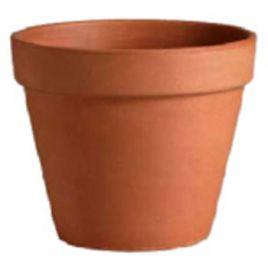 Roodsteen pot glad 14 t/m 44cm