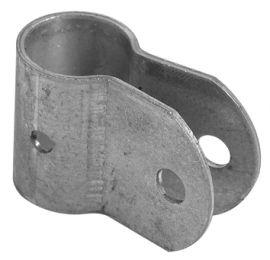 Schoorklem 32*2 mm (sendzimir verzinkt)