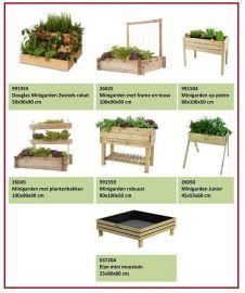 Complete set Minigardens á 7 stuks