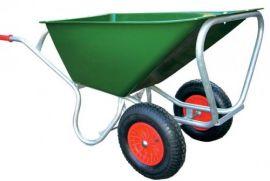 Stalkruiwagen 160 liter tweewielig, kogellager