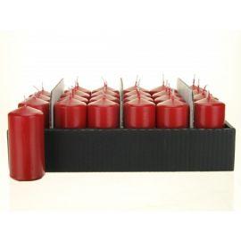 Stompkaars rood, per 24stuks