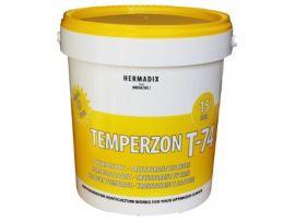 temperzon T74 per 15 ltr. kleur transparant-wit