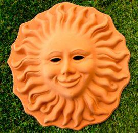 Terracotta, lachende zon, SOL1