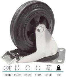 Zwenkwiel met rem (9022160)